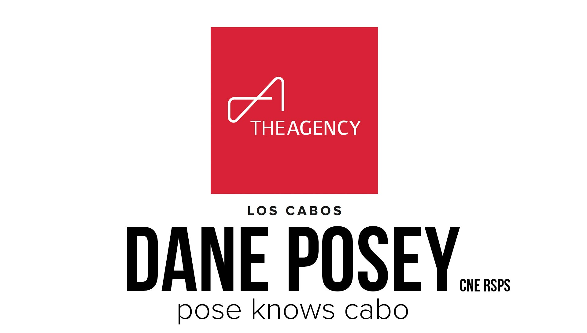 Cabo Real Estate Agent Dane Posey